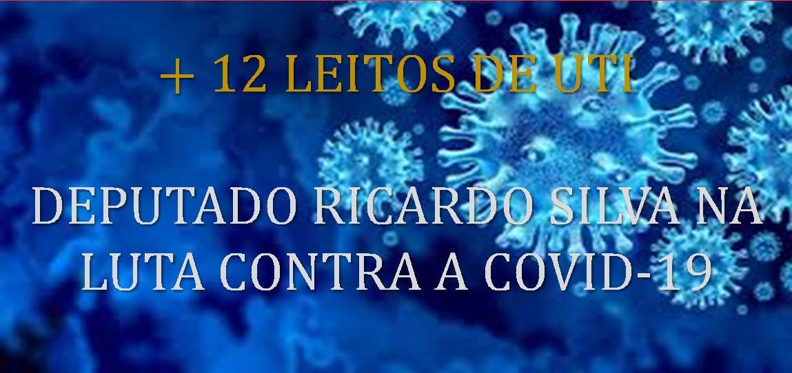 Deputado Ricardo Silva na luta pela vida
