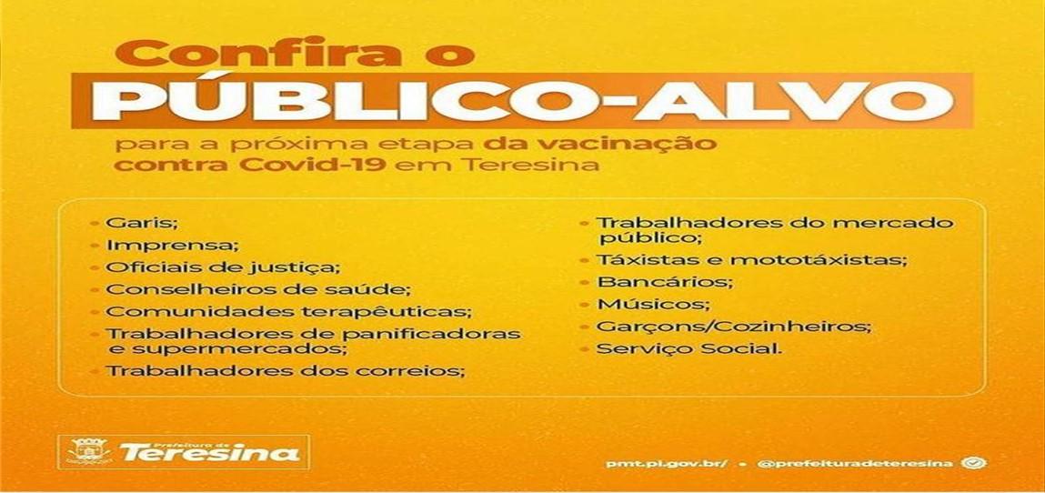 Oficiais serão vacinados em Teresina/PI